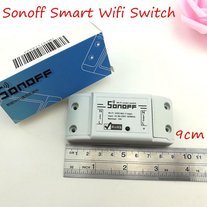 Sonoff dc220v Pilot Bezprzewodowy Przełącznik automatyki Inteligentnego Domu/Inteligentny WiFi Centrum dla APP Inteligentny Dom Steruje 10A/2200 W 12
