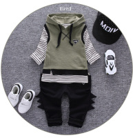 Infantis Children S Spring Autumn Baby Boys Tops Tees Long Sleeve T Shirt Pants Vest With