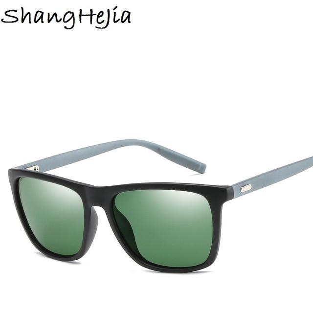 20178 gafas de sol polarizadas para hombre fresco Vintage Marca Diseño gafas  de sol Polaroid lentes 9d82ecc26bfc