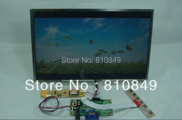 VGA signal input lcd controller board for 14.1inch LP141WX3 1280*800 resolution