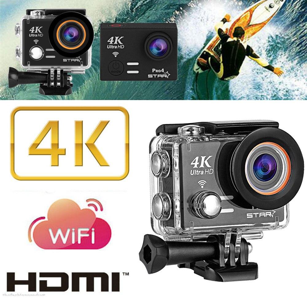 HIPERDEAL Pro 4K Ultra HD 1080P WIFI 20MP HD Helmet Sport Action Waterproof Camera DV Cam eken h8 h8r ultra hd 4k 30fps wifi action camera 30m waterproof 12mp 1080p 60fps dvr underwater go helmet extreme pro sport cam
