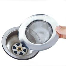 1 шт. пробка из нержавеющей стали для душа для сливного отверстия ловушка фильтра Кухня металлическая раковина ситечко