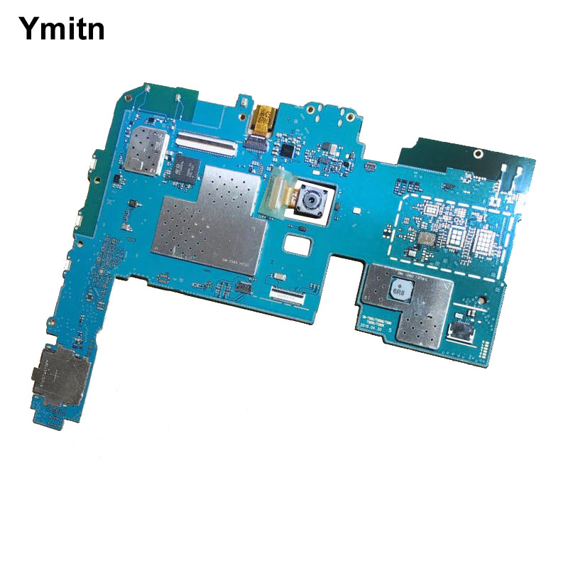 Ymitn Working Well Unlocked With Chips Mainboard Global Firmware Motherboard WiFi PCB For Samsung Galaxy Tab A 10.1 2016 T580