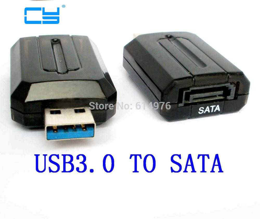 USB3.0 USB 3.0 to internal SATA 7pin 3G bps Convertor Adapter connector for 2.5 3.5 hard disk Black beautiful gift new usb to rs232 db9 serial com convertor adapter support plc drop shipping kxl0728