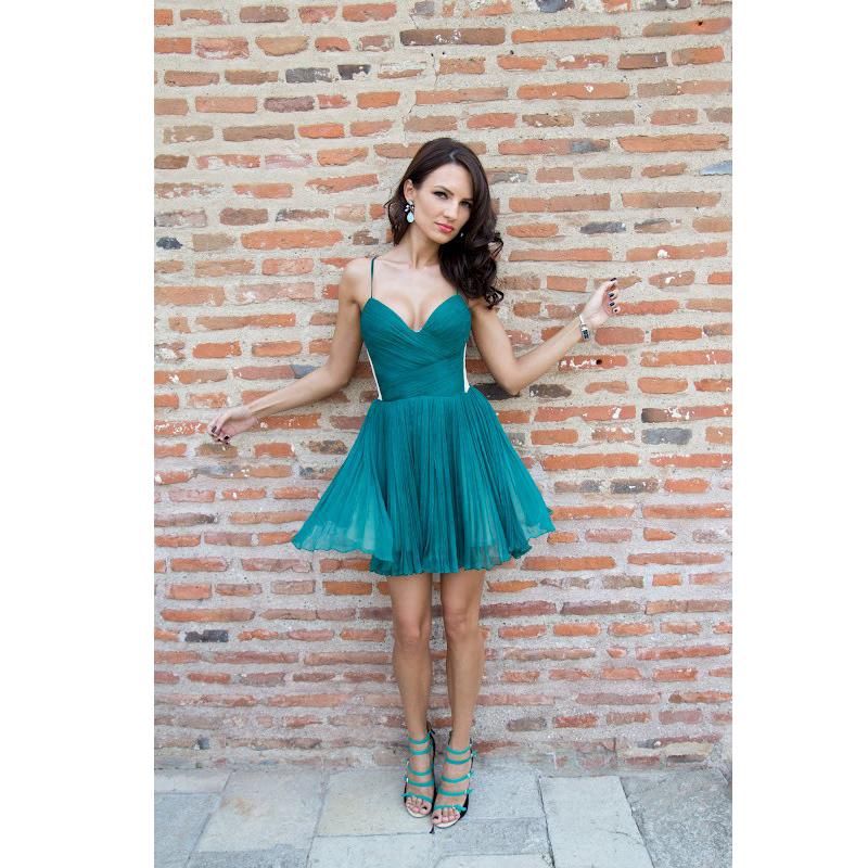 Popular Cute Short Prom Dresses with Straps-Buy Cheap Cute Short ...