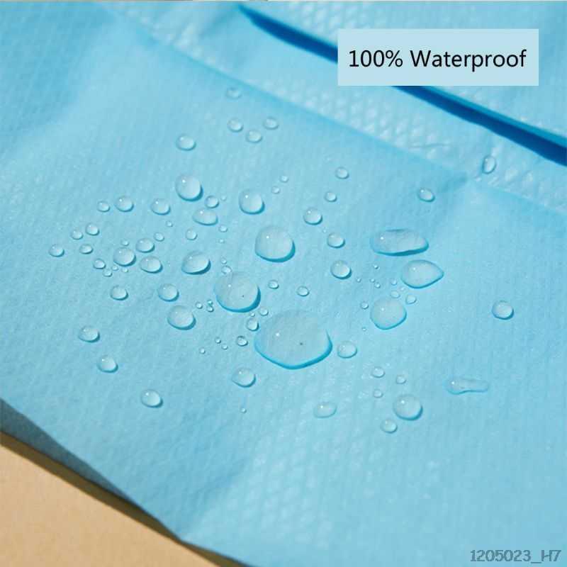 غطاء مقعد حمام قابل للإستخدام لمرة واحدة فقط للماء المحمولة السفر سلامة المرحاض وسادة للمقعد