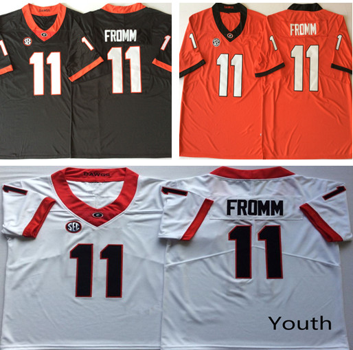 Aliexpress.com   Buy Youth Georgia Bulldogs 11 Jake Fromm Stitched College  Jersey Size S XL from Reliable America Football Jerseys suppliers on  Shop4655066 ... 98a334595