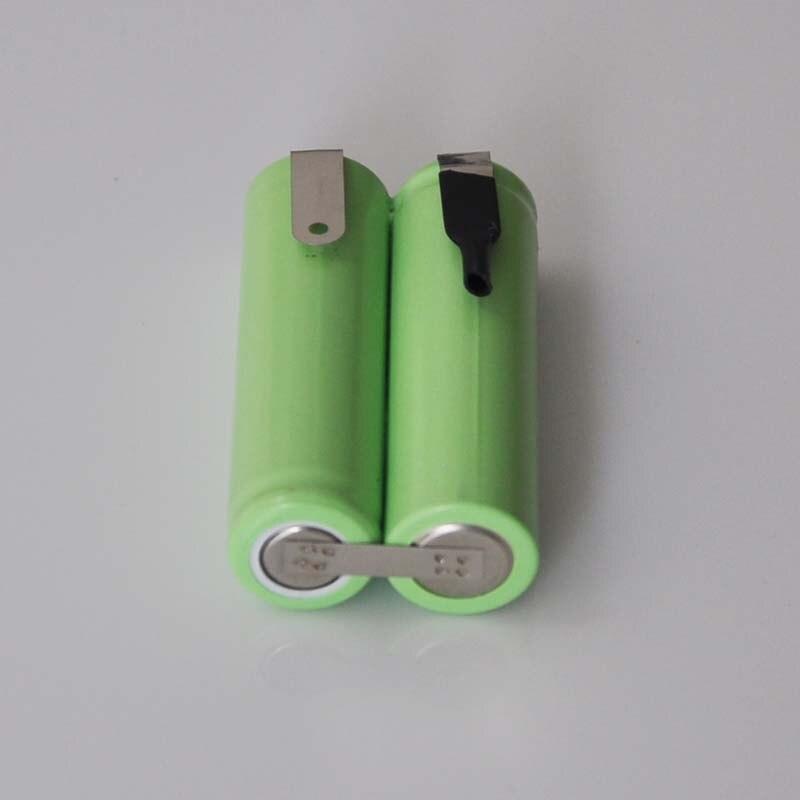 1-4 pces 2.4 v aa bateria recarregável ni-mh bateria 1500mah 2a ni-mh bateria bateria bateria para telefone sem fio leve barbeador elétrico