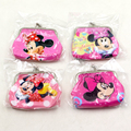 Baby Shower Minnie Mouse Happy Birthday Party Decoration Coin Purse Kids Favors Gift PVC Money Bags Events Supplies 1pcs\lot