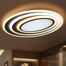 Karartma + Uzaktan Kumanda Modern Led Tavan Işıkları Oturma Odası Yatak Odası Için 3 Renk Sıcaklık Yeni Tasarım Tavan Lambası Fikstür