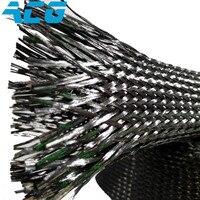 carbon fiber sleeves biaxial Braided sleeving tube heat insulation 3k/6k/12k