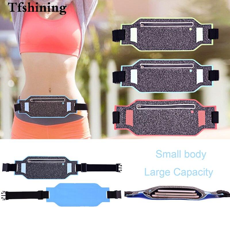 Tfshining Running Sports Waist Phone Bag Fanny Pack Men Women <font><b>Jogging</b></font> Belt Gym Fitness Bag <font><b>Accessories</b></font> for <font><b>iphone</b></font> X 7 8 6 Plus