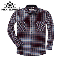 SMART FIVE chemise homme Summer 100% Cotton Long Sleeve Mens Dress Shirt Slim