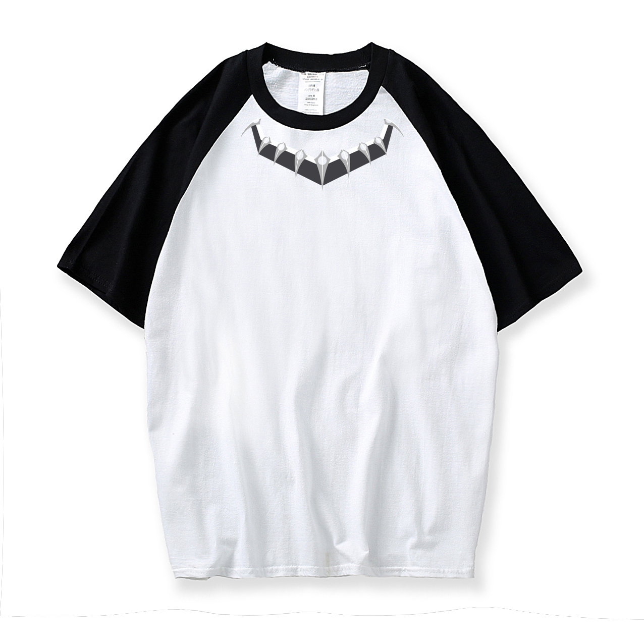 raglan short sleeve t shirt o-neck cotton camiseta Black Panther T-Shirt 2019 summer men harajuku streetwear top tee shirt homme