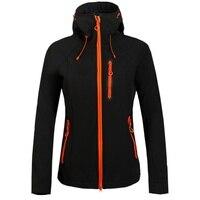 Women Brand Waterproof Hiking Jacket Outdoor Hiking Softshell Jacket Clothing Female Windproof Soft Shell Fleece Jackets