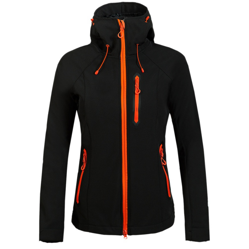 Women Brand Waterproof Hiking Jacket Outdoor Hiking Softshell Jacket Clothing Female Windproof Soft Shell Fleece Jackets outdoor breathable softshell jacket men s black tactical hunting waterproof windproof jacket soft shell with fleece lining