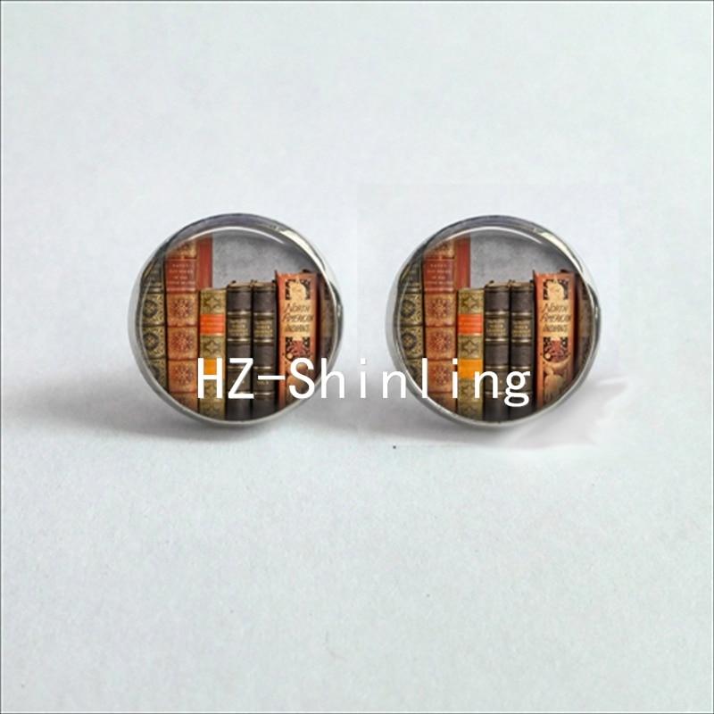 Aliexpress.com : Buy NES 0020 Glass Cabochon Stud Earring ...