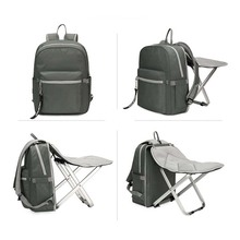 Outdoor leisure can sit Mummy bag chair back be large capacity baby out of care package travel ba