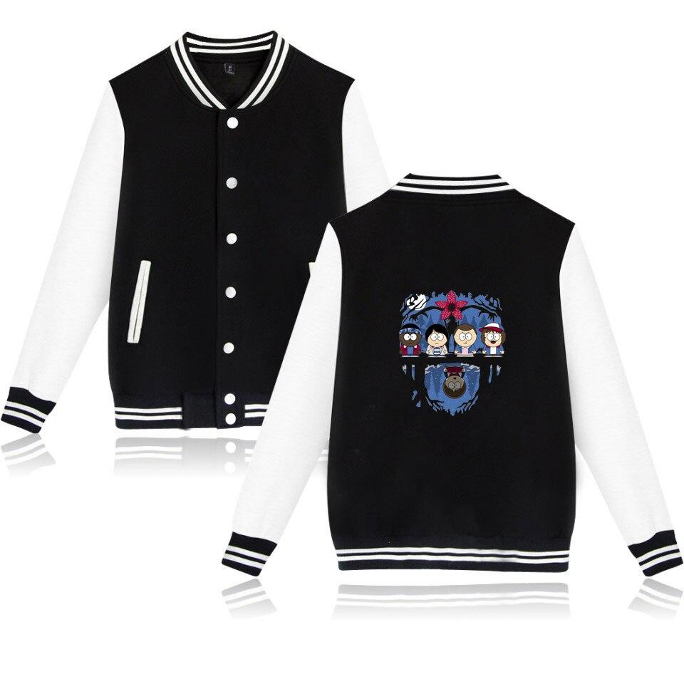 stranger things Jackets Winter Latest Hot Sale Baseball Jacket Uniform Design Hoodies Hip Hop Casual Cotton Harajuku Sweatshirt