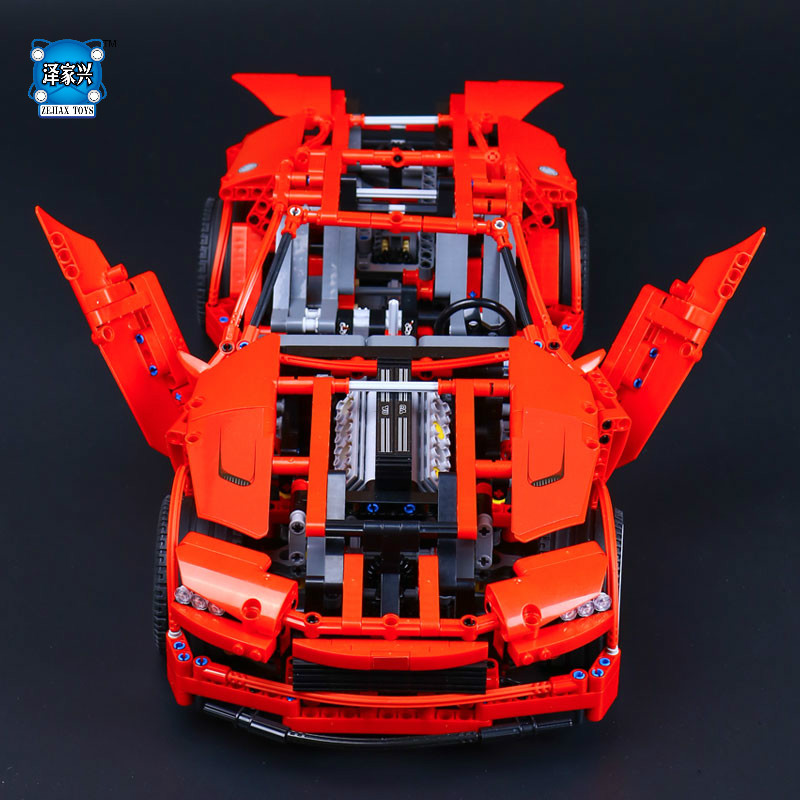 New LEPINE Technic Series Super Car Assembly Toy Car Model DIY Brick Building Block Educational Toys with Model Figures Gifts new lp2k series contactor lp2k06015 lp2k06015md lp2 k06015md 220v dc