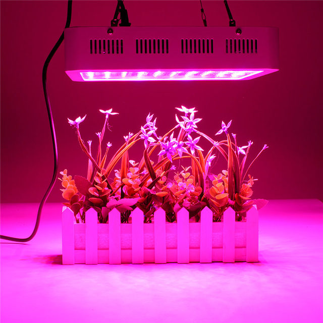 1000W Full Spectrum 100 LED Grow Light Bulb Growth Lamp for Greenhouse Hydroponics Indoor Plants Veg Bloom Fruit AC85~265V