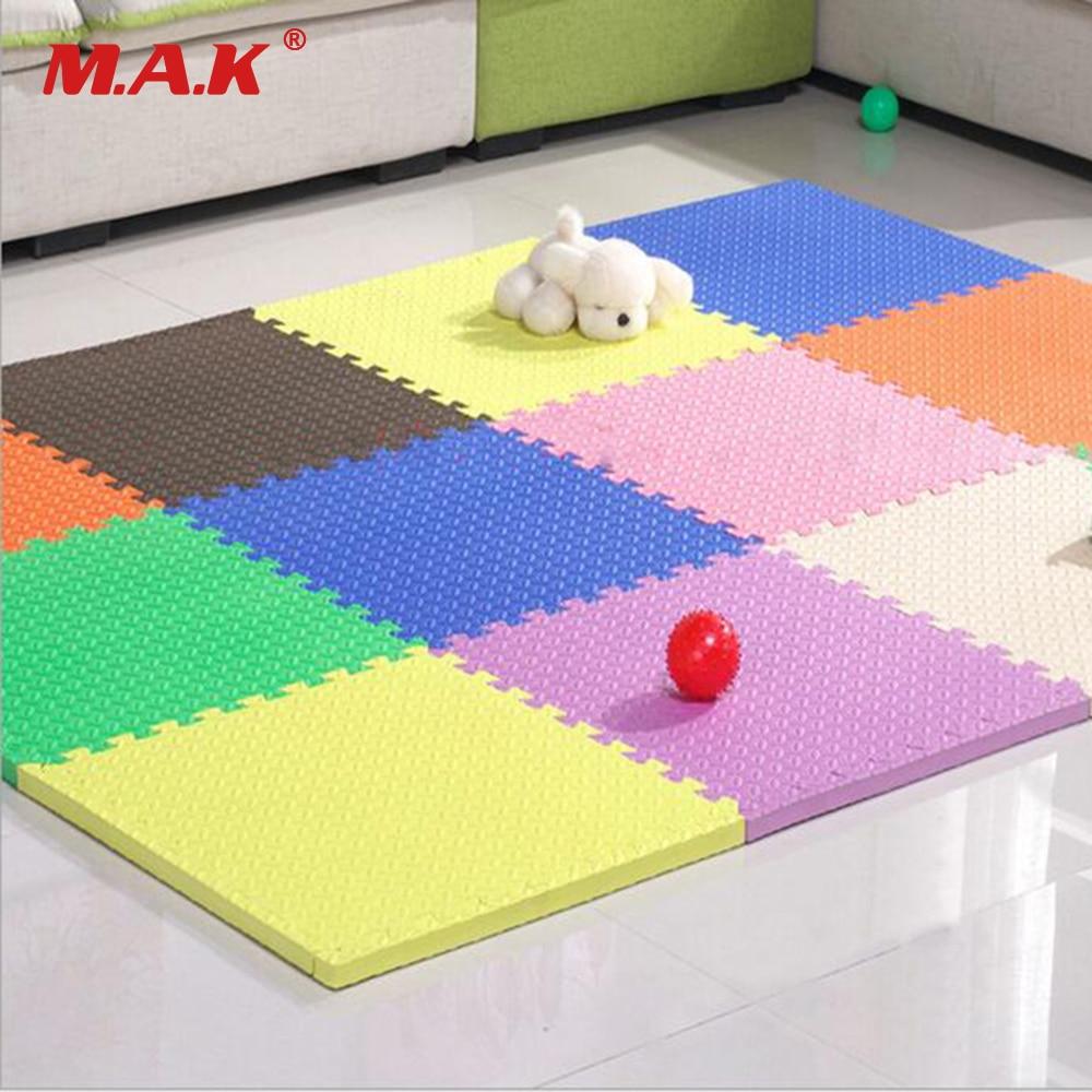 18/12PCS EVA Foam Playmat Baby Play Mat Crawling Flooring Carpets Waterproof Non-toxic Gym Games Blanket
