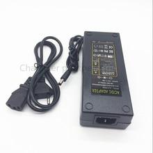 цена на AC100-240V to DC 12V 10A power adapter for led strip LCD CCTV US/EU plug DC12V Lighting transformer