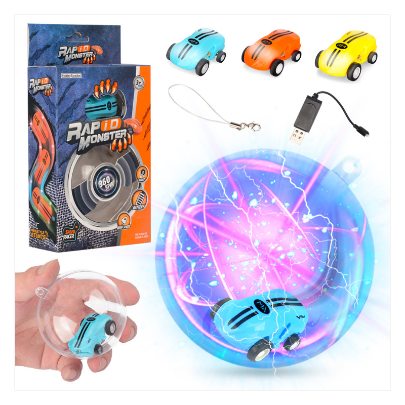 STAR Creative Flashing Led lighting Car Toys For Kids Children Funny Light Up Toys TIKTO DIY Fun Magic Cars Stress Relief Toy