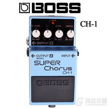 Boss Audio CH-1 Stereo Super Chorus Effects Pedal for Guitar and Keyboard