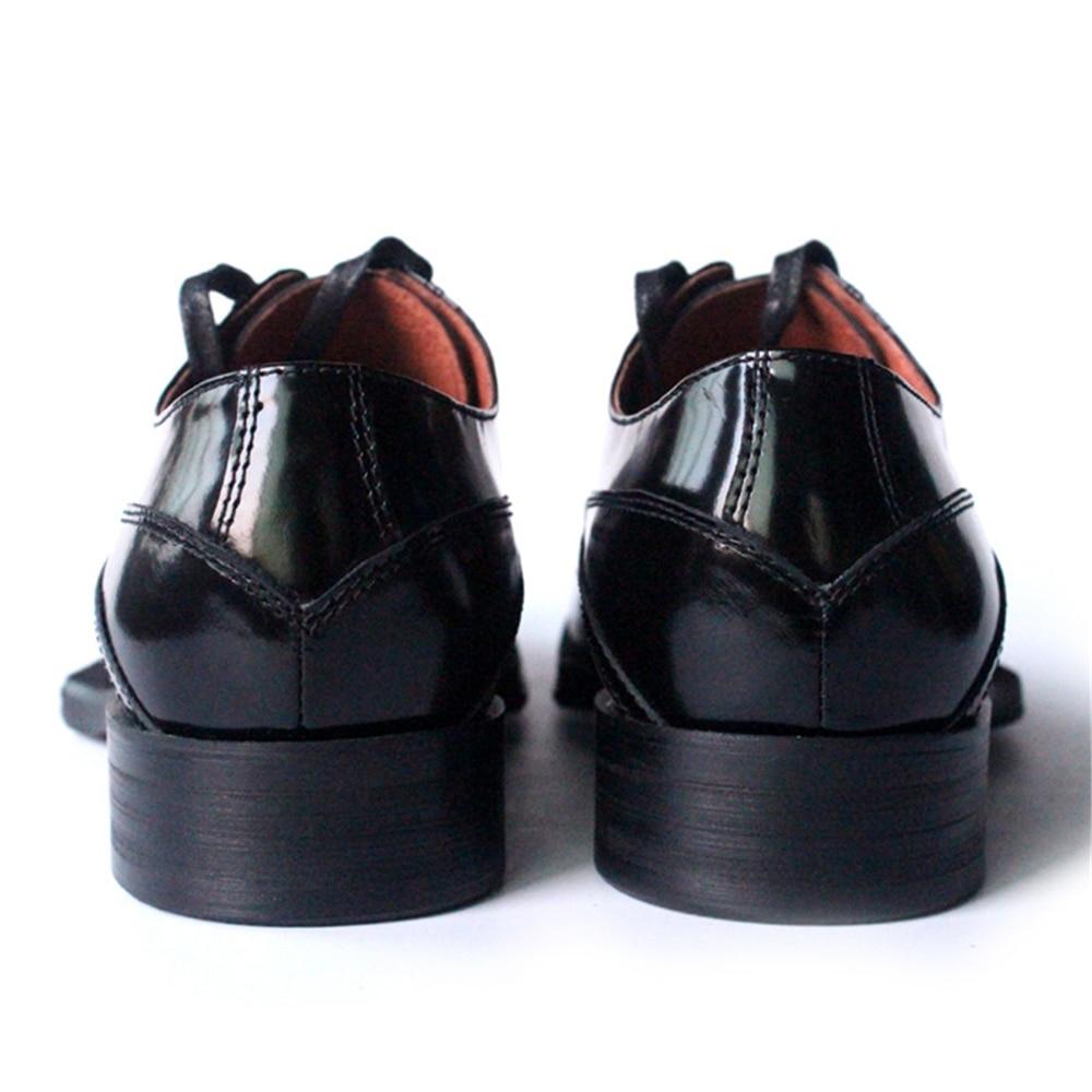 Multi E Couro Americano end Artesanal Clássico Europeu Dos High Laço Sapatos colorido Homens Bordado Cavalheiro Geometria 2018 De aqOYxF