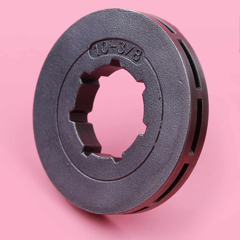 "3//8/"" 10T Tooth Sprocket Rim For Stihl Husqvarna Chainsaw Part Inner Hole 22mm"