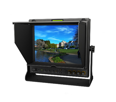 Lilliput 969A/O/P,9.7 Inch 4:3 IPS LED HD Broadcast Monitor With Dual HDMI Inputs,One HDMI Output,Component Video lilliput tm 1018 o p 10 1 led ips full hd hdmi field touch screen camera monitor with hdmi input