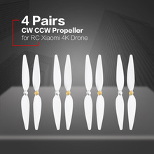 цена на 4 Pairs 10inch propeller for RC xiaomi 4K drone White pervane drone blade propeller for xiaomi mi drone 4k propeller accessories