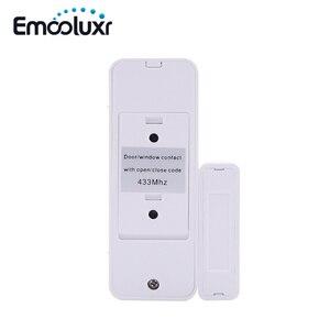 Image 4 - Sensor de apertura de puerta inteligente bidireccional, 10 unids/lote, contacto magnético para aplicación, sistemas de alarma, wifi, G90B plus
