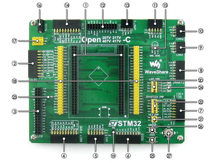 US $76 13 6% OFF 2pcs/lot STM32 STM32F407VET6 STM32F407 ARM Cortex M4  Development Board + PL2303 USB UART Module Kit = Open407V C Standard-in  Demo