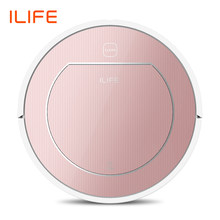 ILIFE V7s Plus Robot Vacuum Cleaner Sweep&Wet Mop Simultaneously For Hard Floors&Carpet Run 120mins before Automatically Charge(China)