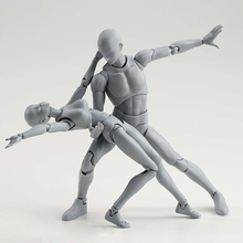 15CM Art Sketch Draw Male Female Movable body chan joint Action Figure Toys artist Art painting Anime model SHF Mannequin