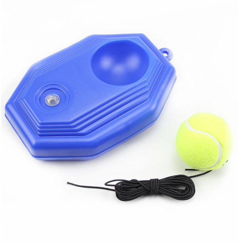 Tennis Trainer Training Primary Tool Exercise Tennis Ball Self-study Rebound Ball Tennis Trainer Baseboard 3.8 Meters Long Rope