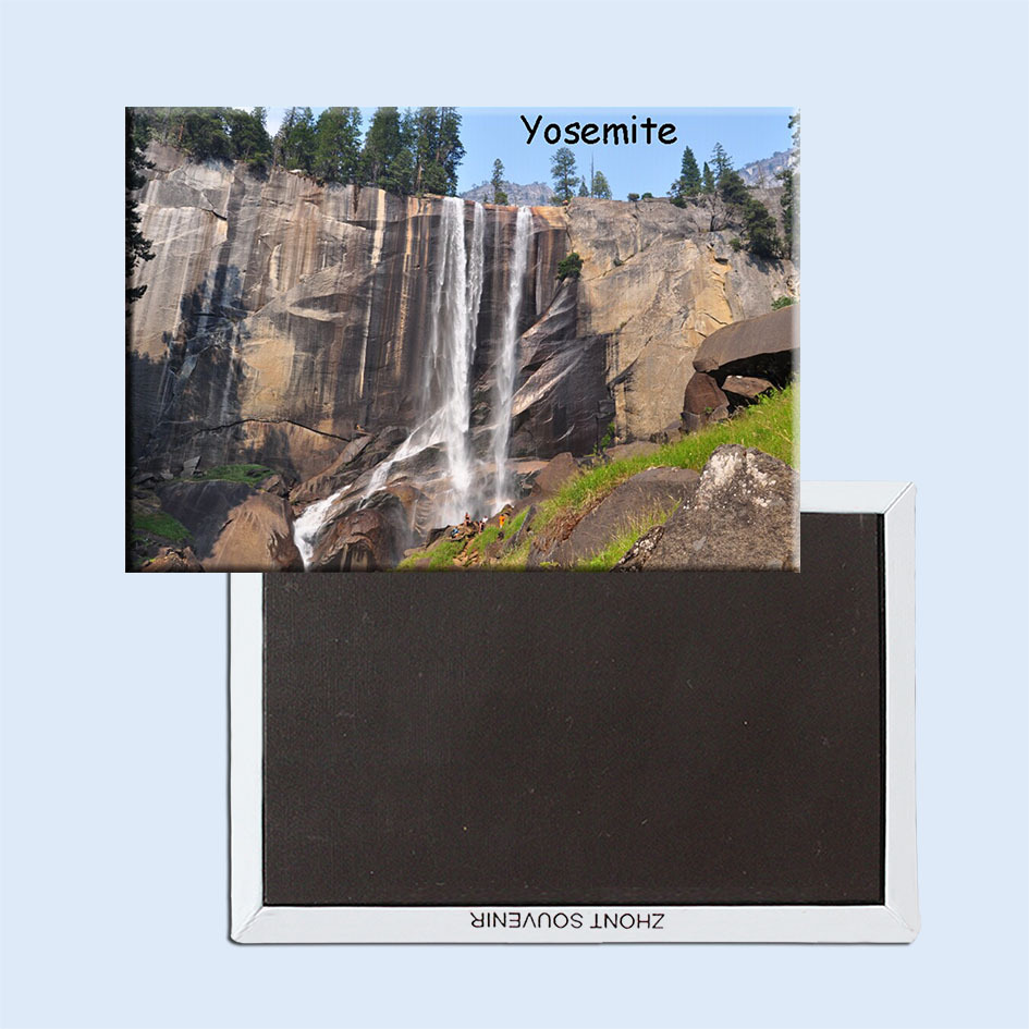 USA Travel Magnets Gifts Home Decor Stickers,National Park Yosemite Magnet 5729 Memorabilia wholesale/Customized Accept
