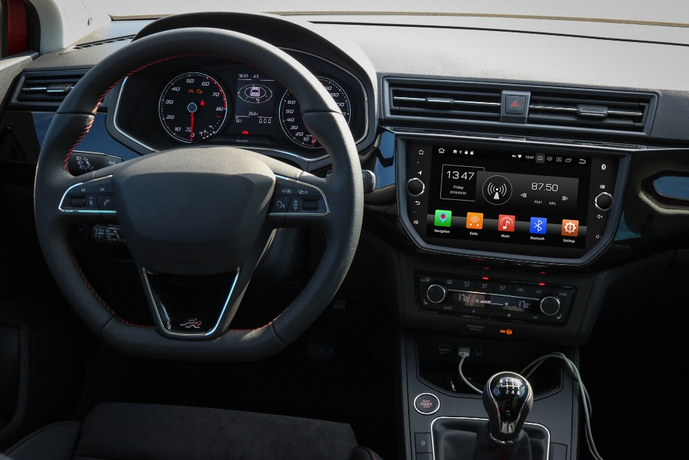 navigatie cu android pentru seat ibiza 2018 2019 caraudiomarket craiova