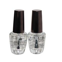 1/2/5 botella 0,5 OZ/15 ml Peluca de encaje pegamento adhesivo solución para el uso de salón de belleza 1 unids/lote