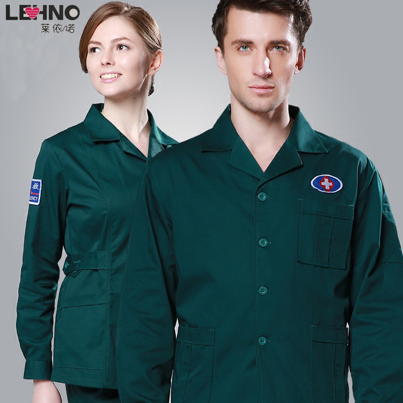 Brands LEHNO Hospital Men s Doctor Uniforms not fading Work Suit Nurse Suit Top Pant Set
