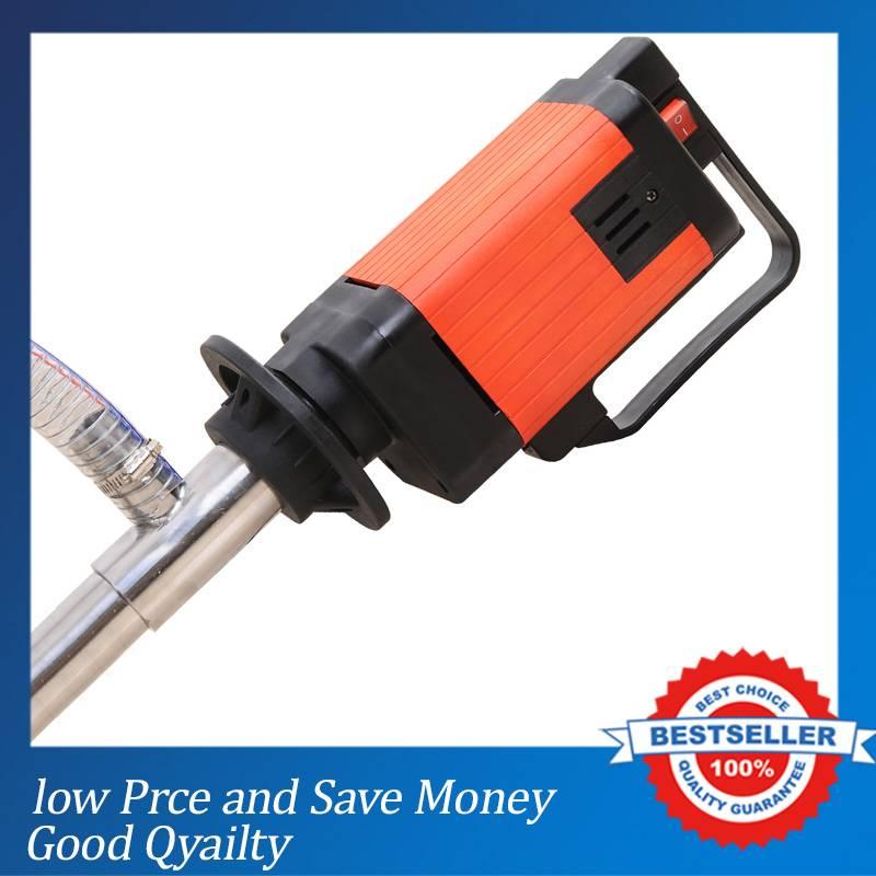 2000W Speed Electric Drum Pumps 6 speed Gear Pump 5000CPS Liquid Transfer Pump Chemical Liquid Transportation