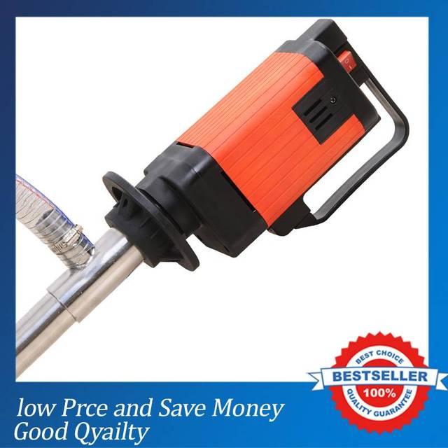 2000w Speed Electric Drum Pumps 6 Speed Gear Pump 5000cps Liquid