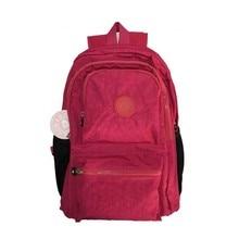 الأزياء الكبيرة الحقائب المدرسية للمراهقين النساء النايلون حقيبة الظهر mochila الأنثوية