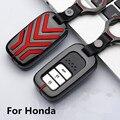 Цинковый сплав чехол для ключа автомобиля для Honda Civic Vfc 2017 Accord 2003-2007 Cr-v Freed Pilot Style автомобильный брелок держатель брелок