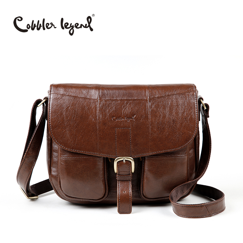 Cobbler Legend Brand Genuine Leather 2017 Women Shoulder Bag Casual Style Crossb
