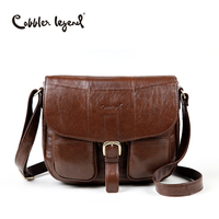 Cobbler Legend Brand Genuine Leather 2017 Women Shoulder Bag Casual Style Crossbody Bag For Ladies Handbags