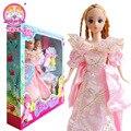 2015 хороший сумка обувь платье для куклы барби аксессуаров сон большой подарочный комплект в коробке детская игровая игрушки девушка подарков