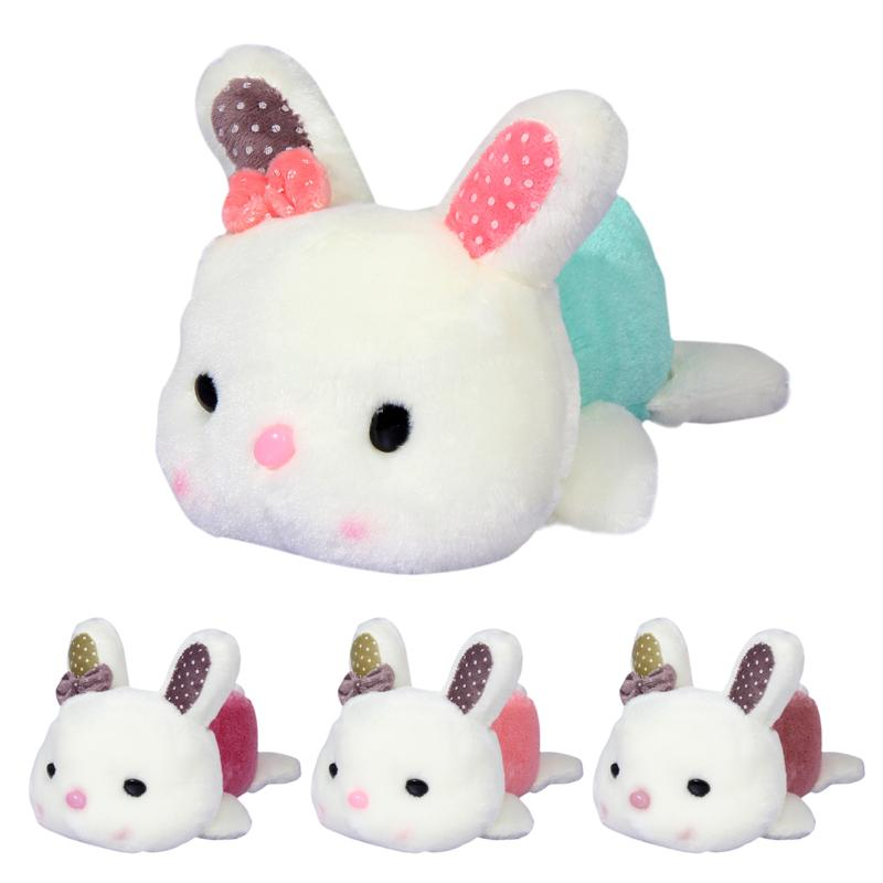 20cm Lovely Rabbit Little Bunny Stuffed Plush Toy Cute Rabbit Baby Sleeping Animal Doll Toy Children Ideal Birthday Xmas Gift cute simulated rabbit plush stuffed baby doll babies sleeping dolls children toys birthday gift for baby doll comfort toy